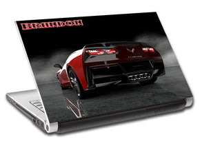 Luxury Car Personalized LAPTOP Skin Vinyl Decal L712