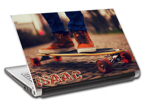 Skateboard Longboard Personalized LAPTOP Skin Vinyl Decal L721