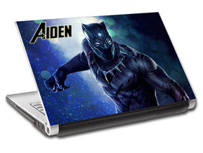 Black Panther Super Heroes Personalized LAPTOP Skin Vinyl Decal L744