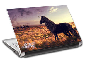 Unicorn Personalized LAPTOP Skin Vinyl Decal L784