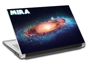 Space Galaxy Interstellar Personalized LAPTOP Skin Vinyl Decal L803