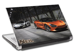 McLaren 72S Sports Car Personalized LAPTOP Skin Vinyl Decal L804