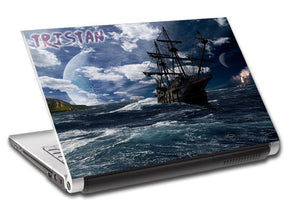 Pirate Ship Personalized LAPTOP Skin Vinyl Decal L806