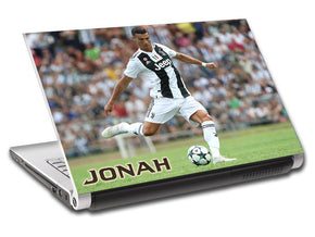 Juventus Ronaldo Personalized LAPTOP Skin Vinyl Decal L824