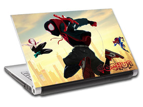 Spider Man Into The Spider Verse Personalized LAPTOP Skin Vinyl Decal L880