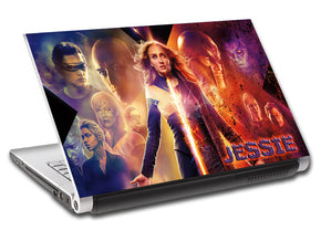 Dark Phoenix Super Heroes Personalized LAPTOP Skin Vinyl Decal L891
