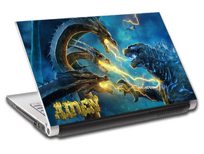 Godzilla Personalized LAPTOP Skin Vinyl Decal L893