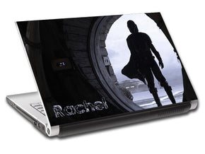 Star Wars The Mandalorian Personalized LAPTOP Skin Vinyl Decal L902