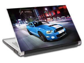 Mustang Shelby GT500 Car Personalized LAPTOP Skin Vinyl Decal L90