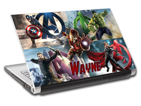 The Avengers Endgame Personalized LAPTOP Skin Vinyl Decal L911