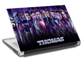 The Avengers Endgame Personalized LAPTOP Skin Vinyl Decal L912