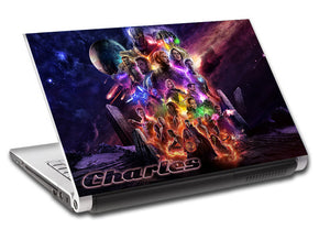The Avengers Personalized LAPTOP Skin Vinyl Decal L913