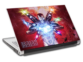 The Avengers Iron Man personnalisé LAPTOP Skin vinyle autocollant L914