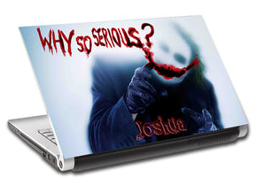 The Joker Personalized LAPTOP Skin Vinyl Decal L918