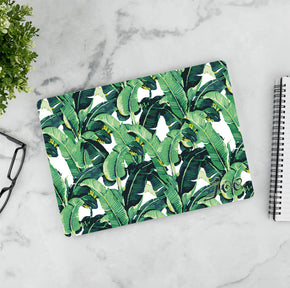 Banana Leaf Personalized LAPTOP Skin Vinyl Decal L938