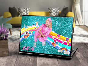 Jojo Siwa Personalized LAPTOP Skin Lid Cover Protector L950