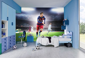 Messi Self-Adhesive Removable Wallpaper Modern Mural M03