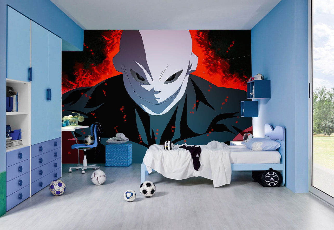 Kids TV Series Characters Woven Self-Adhesive Removable Wallpaper Modern  Mural M150