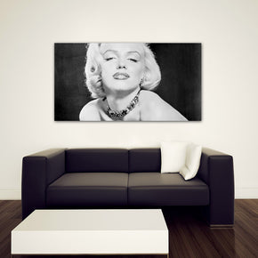 Movie Superstar Canvas Print Giclee