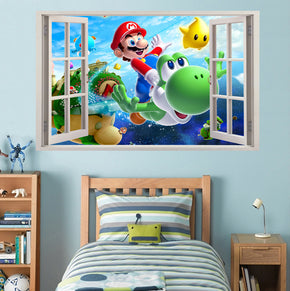 Video Game Characters 3D Window Wall Sticker Decal 033