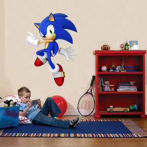 Sonic The Hedgehog Wall Sticker Decal C618