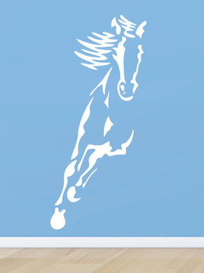 RIDING HORSE Wall Sticker Decal Stencil Silhouette SST010