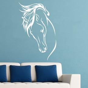 NOBLE HORSE Wall Sticker Decal Stencil Silhouette SST011