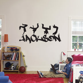 Graffiti Personalized Wall Sticker Decal Stencil Silhouette ST327