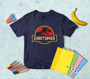 Jurassic Park Dinosaur Personalized Name T-shirt TS017