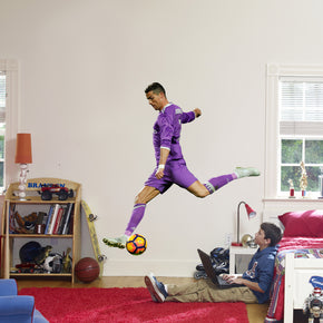 Cristiano Ronaldo Football Wall Sticker Decal WC05