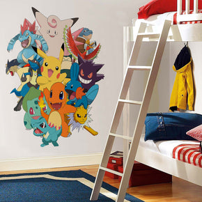 Pokemon Collage - Wall Sticker Decal WC133
