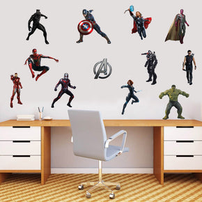 The Avengers Characters Set Super Heroes Wall Sticker Decal WC143