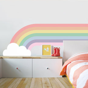 CLOUD RAINBOW Personalized  Wall Sticker Decal WC284