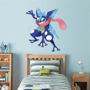 Greninja Pokemon Wall Sticker Decal WC48