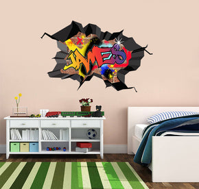 Graffiti Personalized Custom Name Wall Sticker Decal WC76