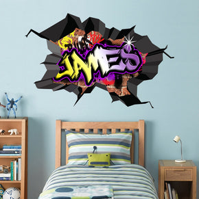 Graffiti Personalized Custom Name Wall Sticker Decal WC77