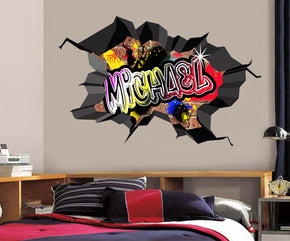 Graffiti Personalized Custom Name Wall Sticker Decal WC79