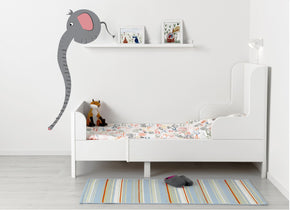 Elephant Growth Height Chart for Kids Decal Wall Sticker WC93