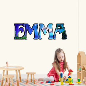 Unicorn Personalized Custom Name Wall Sticker Decal WP168