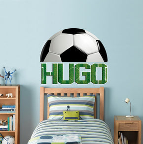 Kids Personalized Custom Name Wall Sticker Decal WP50