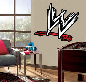 WWE Logo Wall Sticker Decal C664