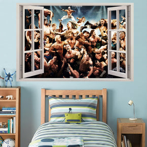 WWE Wrestlers 3D Window Wall Sticker Decal H756