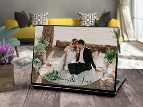 Personalized Your Picture LAPTOP Skin Vinyl Decal L945