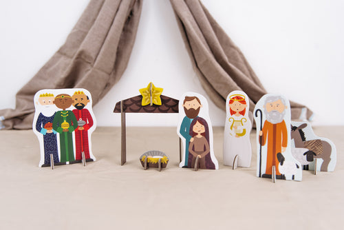 Holy Night Nativity Set