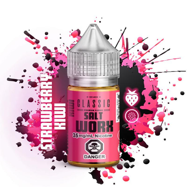 Premium E-Liquid - SaltWorx - Strawberry Kiwi