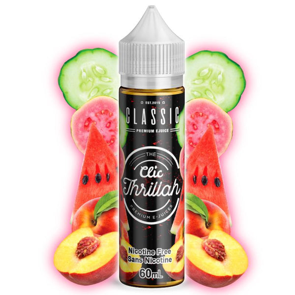 Premium E-Liquid - The Clic - Thrillah