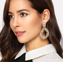 Load image into Gallery viewer, Sofia Crystal Drop Earrings