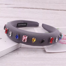Load image into Gallery viewer, Amanda Rhinestone Hairband