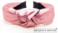 Load image into Gallery viewer, Caroline Satin Knot Headband