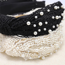 Load image into Gallery viewer, Mané Lace Pearl Headband